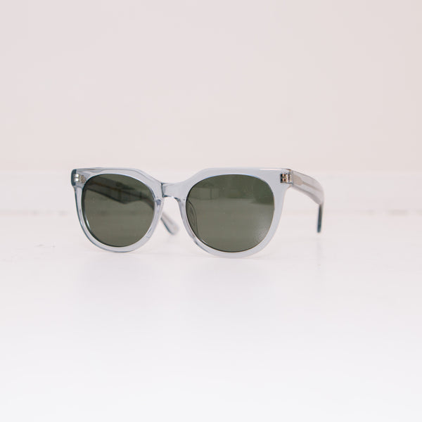 Paul Senior Sunglasses, Grey Transparent