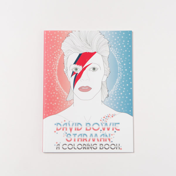 David Bowie Starman: A Coloring Book