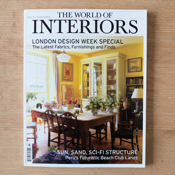 """The World of Interiors"" Magazine"