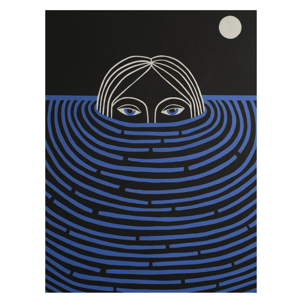 "Caris Reid ""Lunar Water Watcher"" Print"