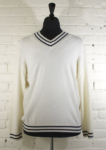 St. Charles Cashmere Sweater - Cream