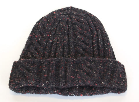 Knit Hat - Brown