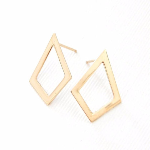 Triangle Stud Earrings