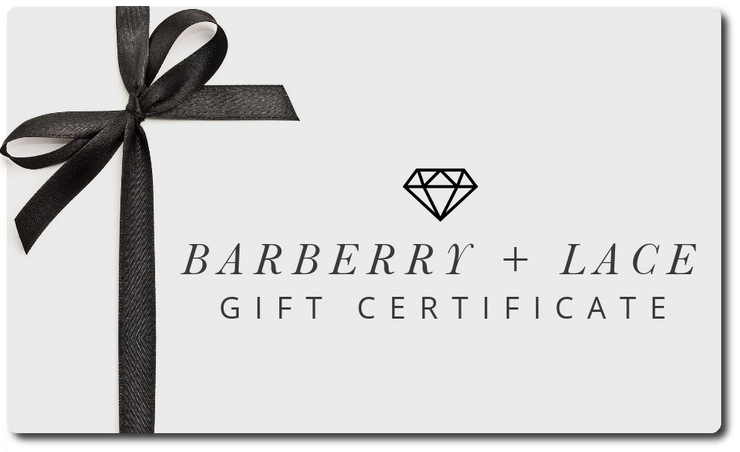 Gift Card - Barberry + Lace