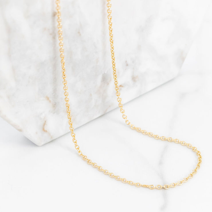 Simple Chain Layering Necklace