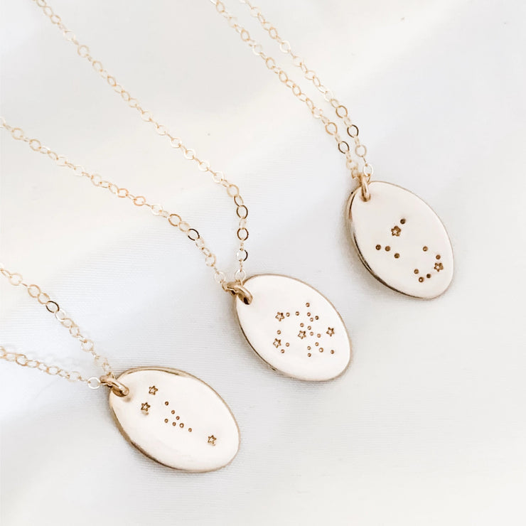 Constellation Necklace - Barberry + Lace