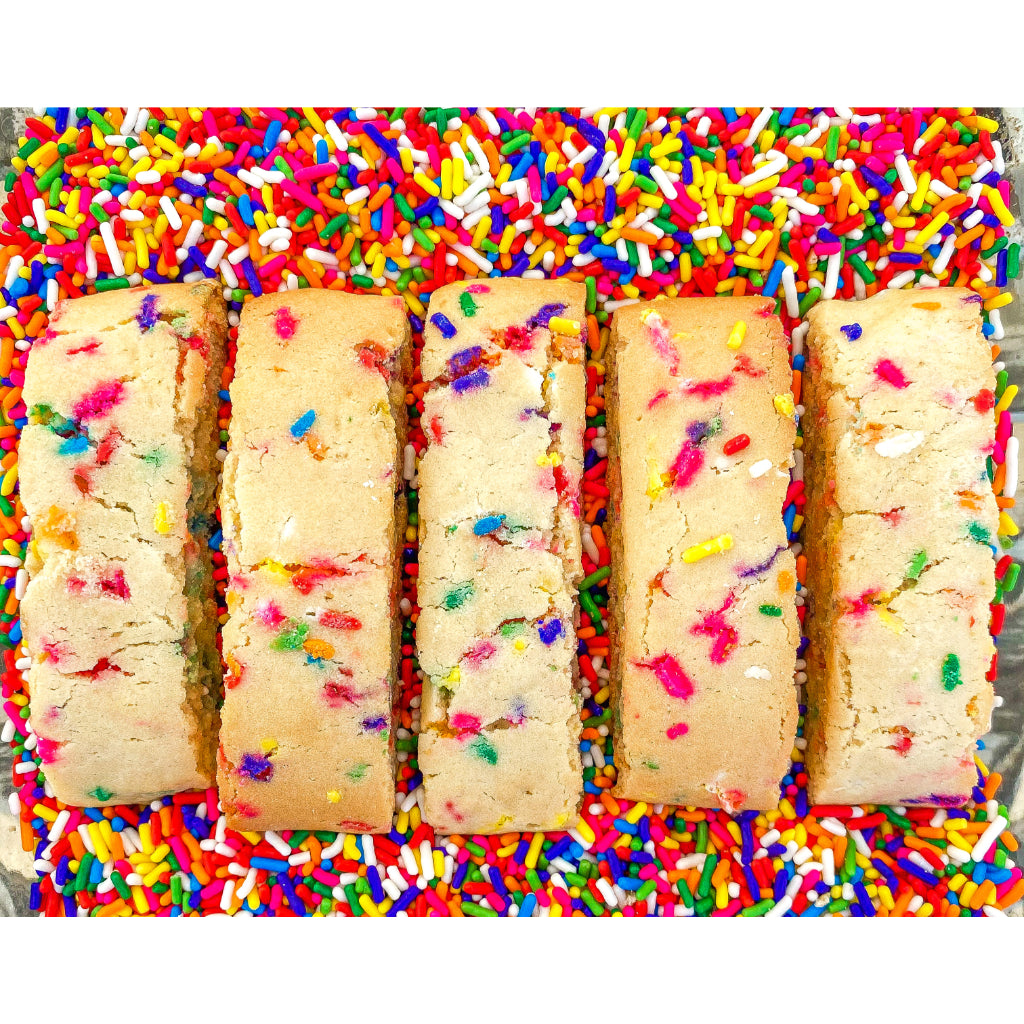 Funfetti Mandel Bread - Noshes By Sherri