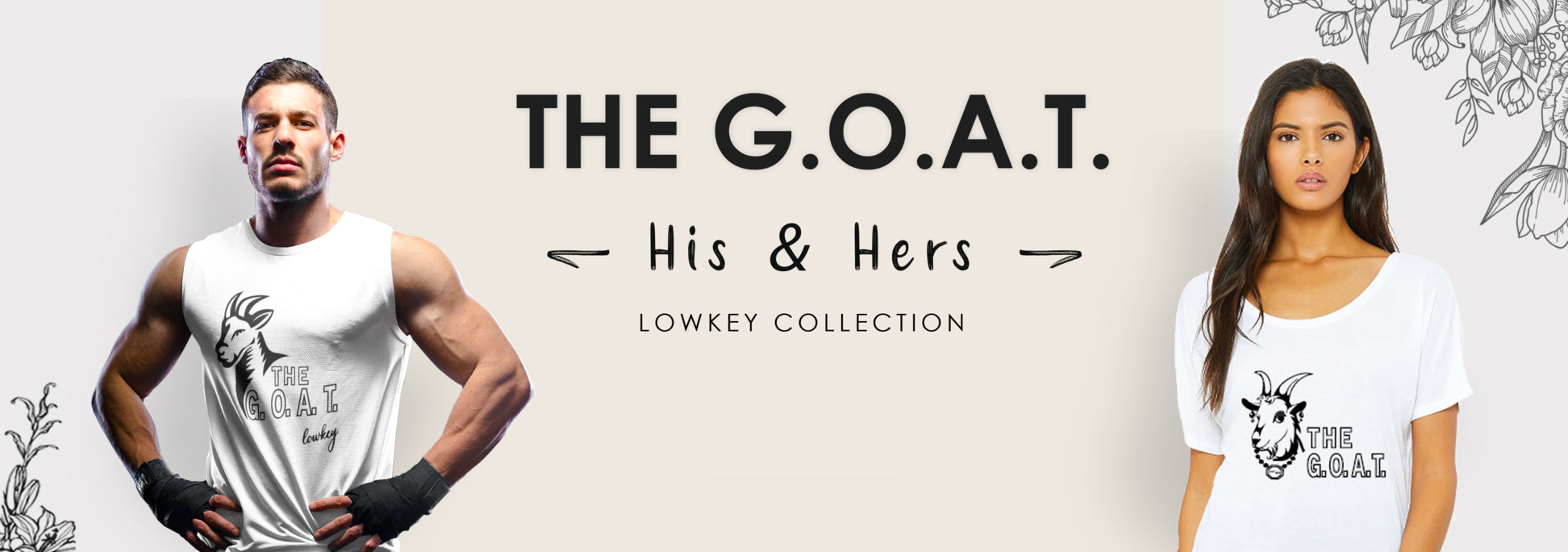 The G.O.A.T. Collection sold by LowKey USA