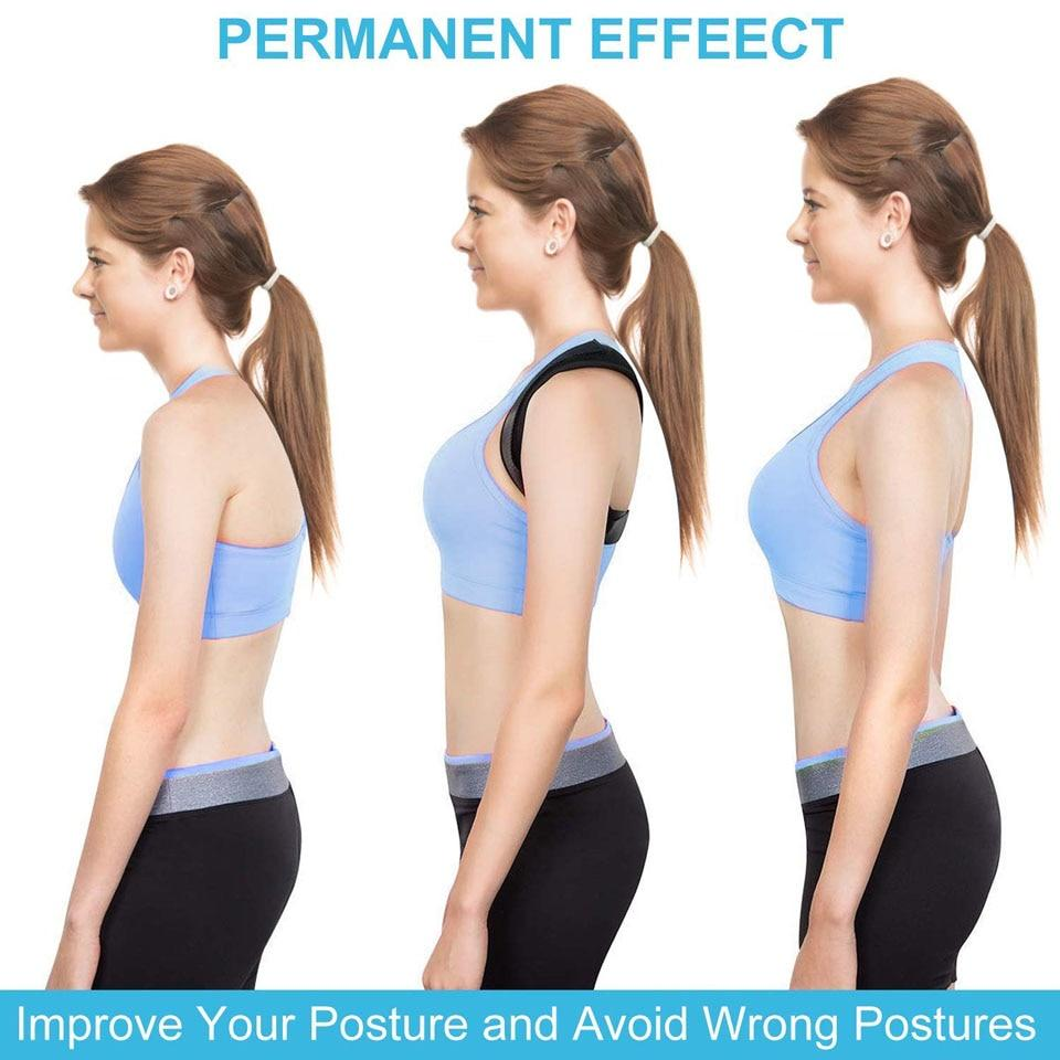 Adjustable Brace Support Belt Back Posture Corrector