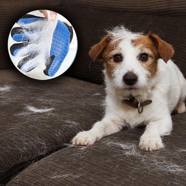 Deshedding Pet Grooming Glove