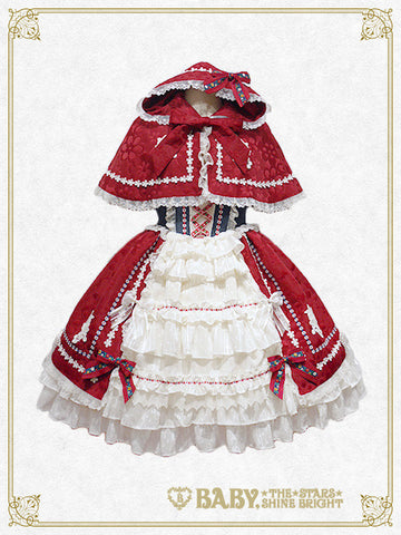Fairyland Red Riding Hood JSK and Cape Set