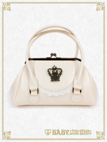 RESERVE - Purse shaped bag with crown