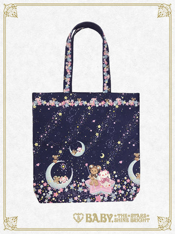 Kumya's Glittery ☆ Milky Way tote bag