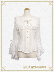 St.Mary Holy Card blouse