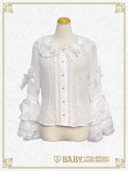 A Rose ~A single rose locked inside the Glass Dome~ blouse