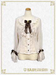 RESERVE - Fondant Chocolat Nounours Collection blouse