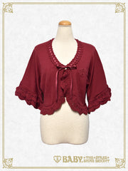 BABY 5 staged sleeve bolero