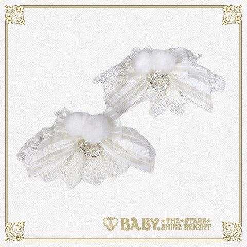 RESERVE - Fairy of Snow cuffs