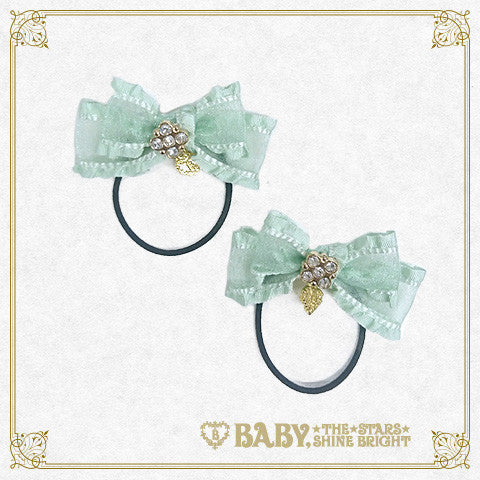 Mini frill ribbon hair band