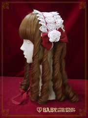 Rosalie rose head dress