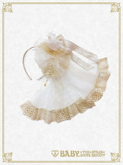 RESERVE - Twinkle twinkle Princess head bow with veil