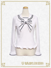Sweetheart sailor pullover