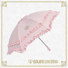 RESERVE - BABY frill folding umbrella