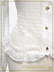 RESERVE - Haru chan's Alice in the Looking-Glass World Alice blouse