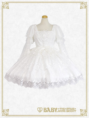 RESERVE - Pure Rose Princess dress set (build-to-order)