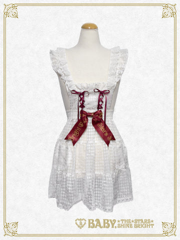 RESERVE - Haru chan's Alice in the Looking-Glass World Alice apron