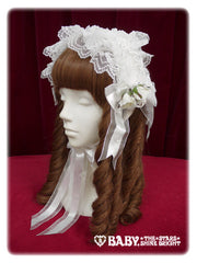 Airy rose head dress