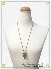 Patchwork Apples necklace