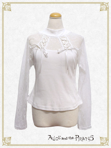Raglan Lace Up Cutsew
