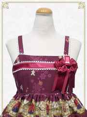 A Snowy Christmas Eve Mysterious Gift Present Ribbon jumper skirt