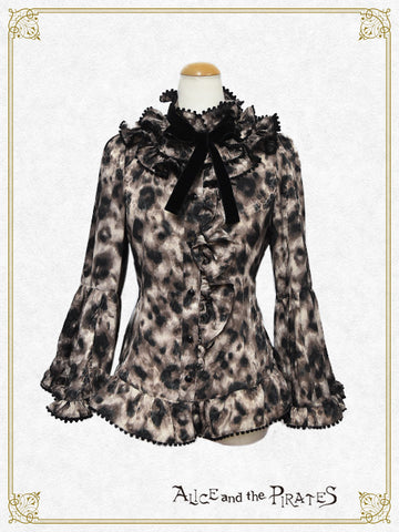 RESERVE - Brownie's Lonely Shadow pompon blouse