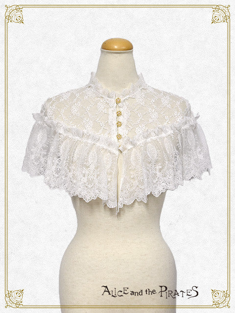 RESERVE - Anastasia Lace Mini Cape