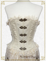 RESERVE - Grace Reed Corset with lace train