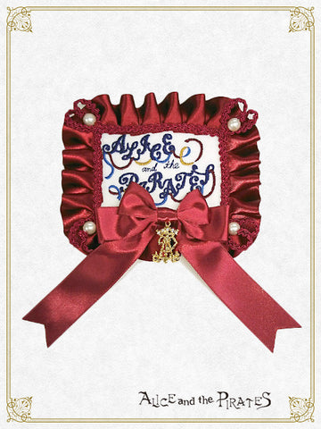 Alice Rosetta Ribbon Barrette