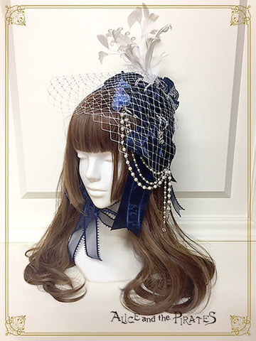 RESERVE - Anastasia Phantom head dress
