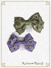 Winery two colors ribbon comb