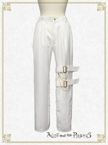 RESERVE - Long Pants with belt