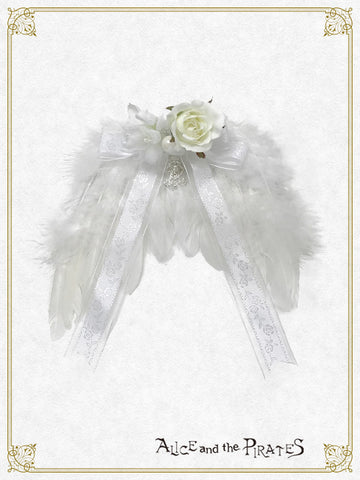 RESERVE - Petit ange brooch (build-to-order)