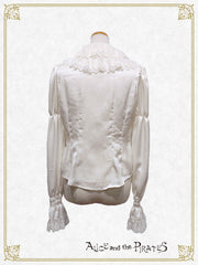 Cosette's lace collar blouse