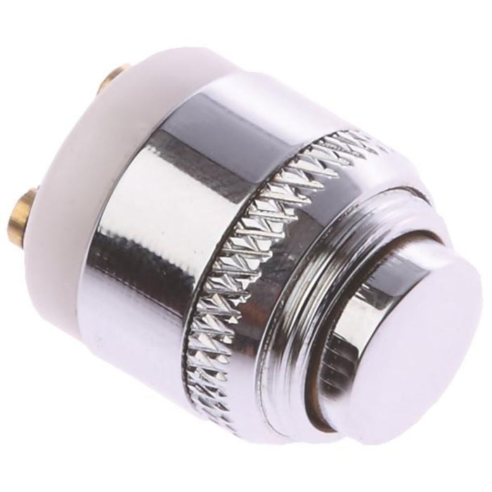 Polished Chrome Polished Chrome Bell Push Button Only