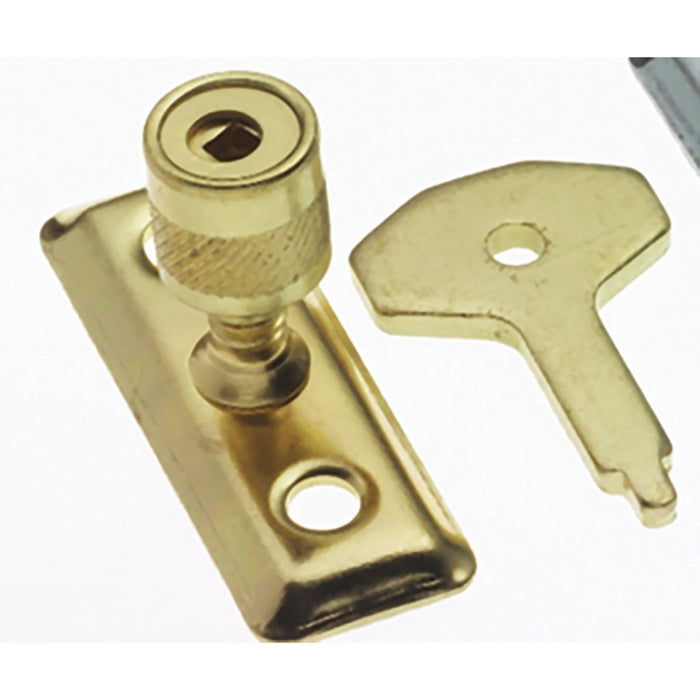 Electro Brassed Locking Casement. Stay Pin