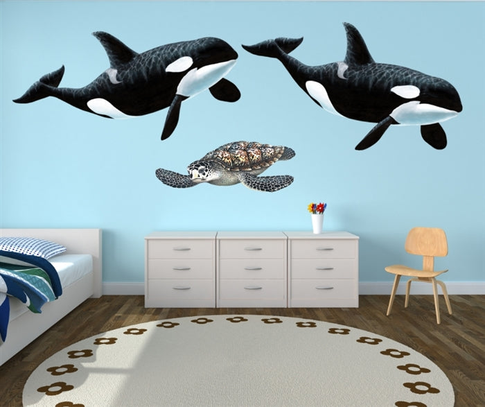 Orca Wall Decal (Two Sizes)