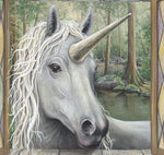 Load image into Gallery viewer, Unicorn Wall Decal (38 in. x 32 in.)