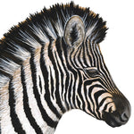Load image into Gallery viewer, Baby Zebra Wall Decal (32 in. x 40 in.)