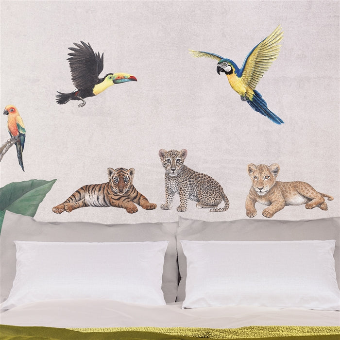 Big Cat Cubs Wall Decals Collection