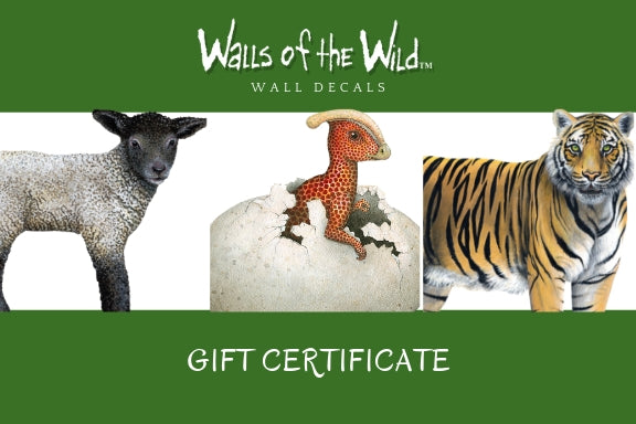 Walls of the Wild Gift Card